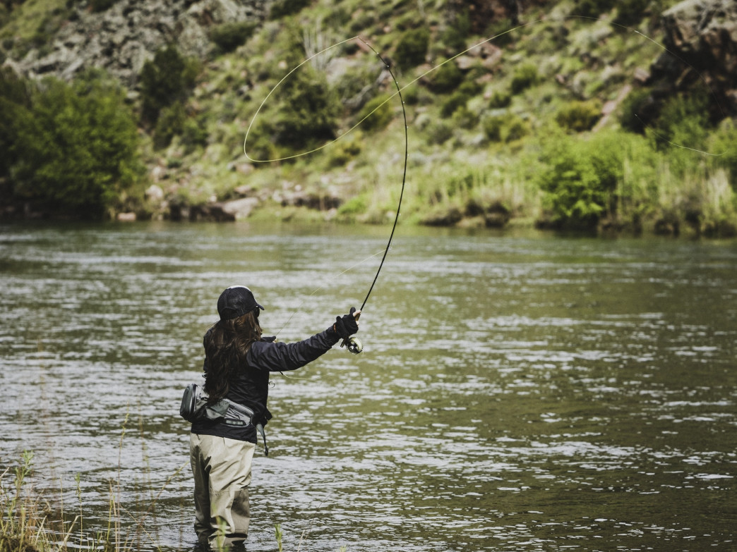 Casting a fly on the Green River's Little Hole is a must-do experience for anglers.