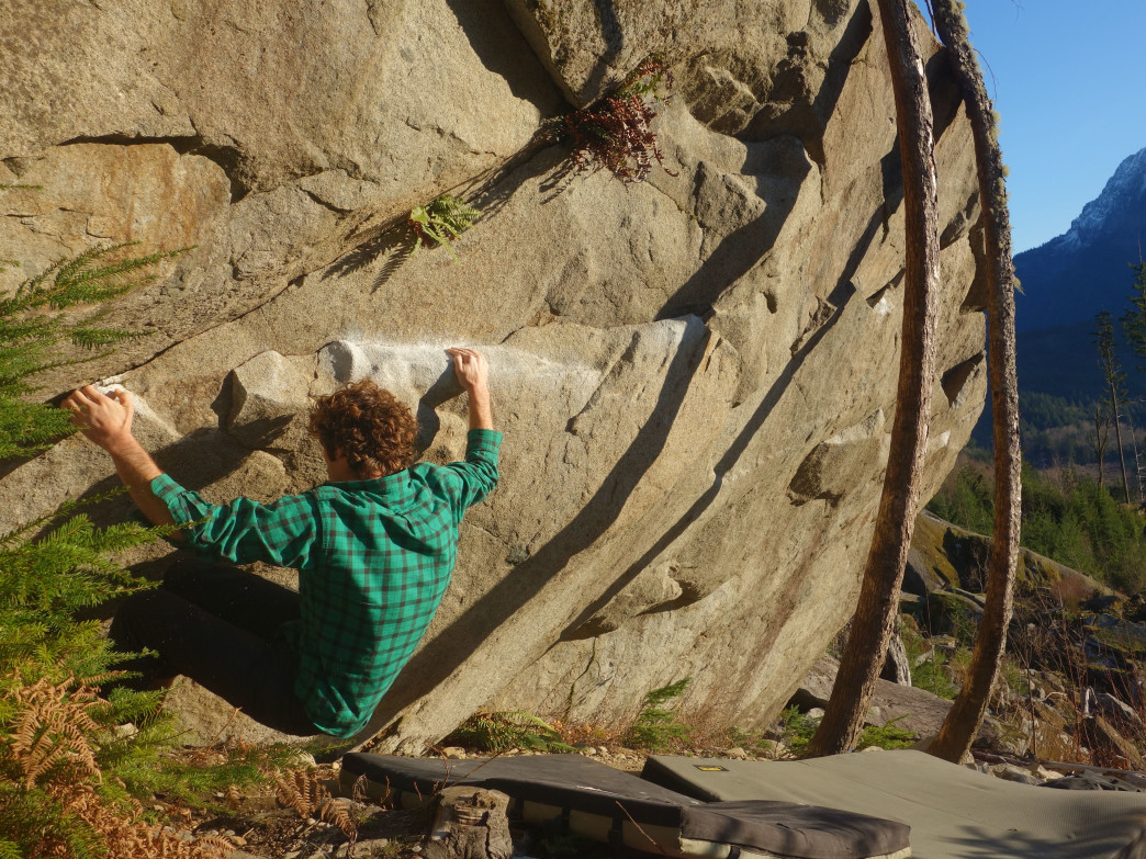 Gold Bar is home to both stunning views and fun, challenging bouldering problems.