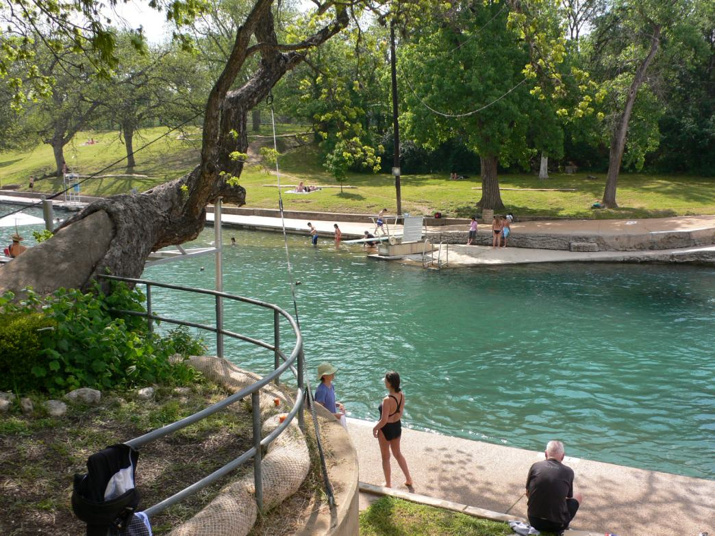 Barton Springs Pool Road Running