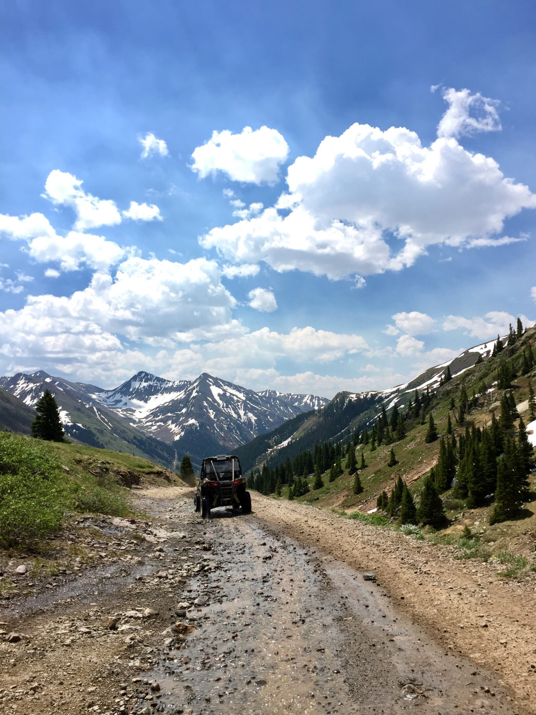 Taking to the OHV trails in Silverton.     Abbie Mood