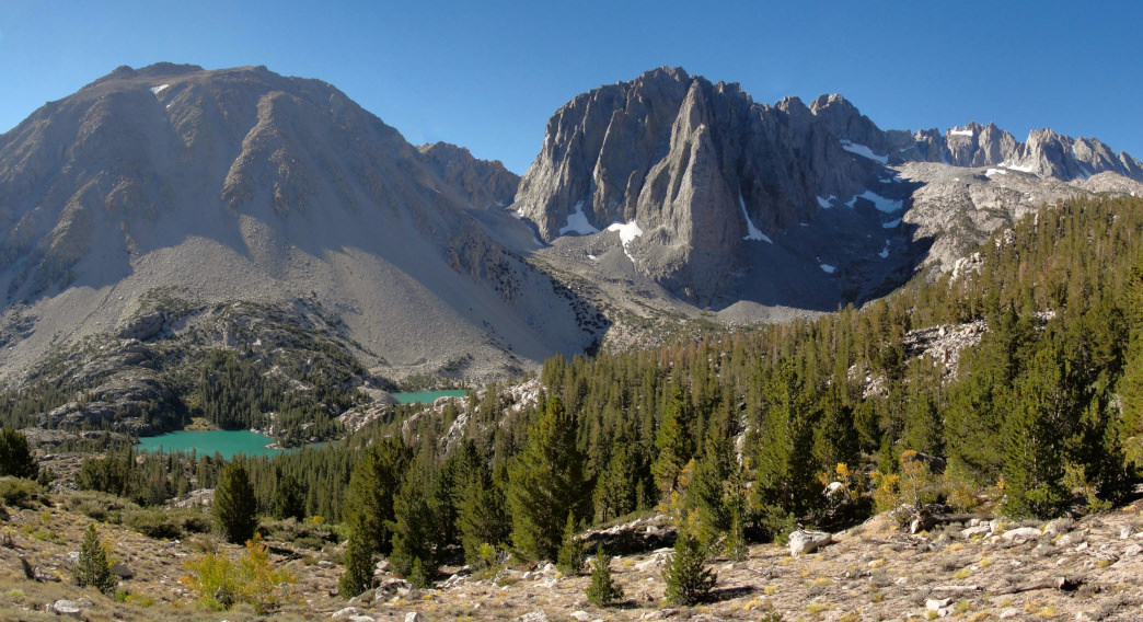 Jump on the John Muir Trail, the Pacific Crest Trail, or spend some time exploring the expansive John Muir Wilderness itself.