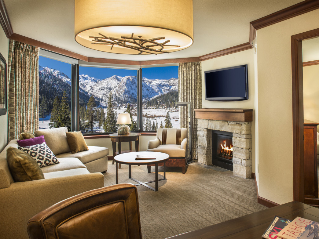 An ideal home base for a Tahoe ski vacation, the Resort at Squaw Creek has recently unveiled a swanky renovation.