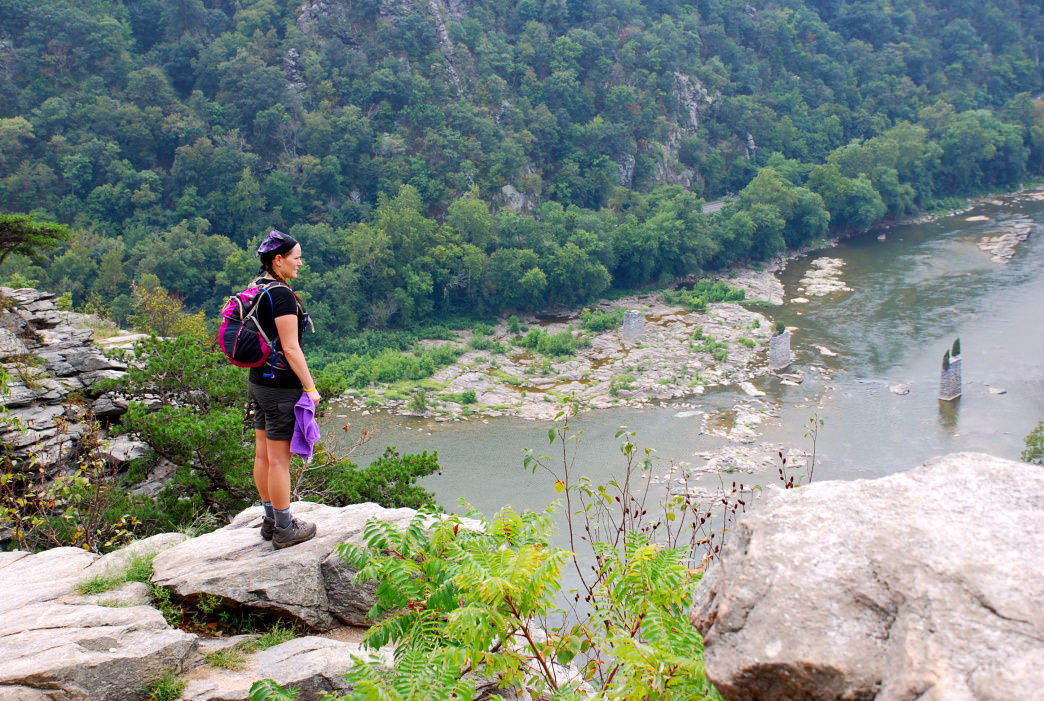 There's really no bad view when hiking in and around Harpers Ferry.