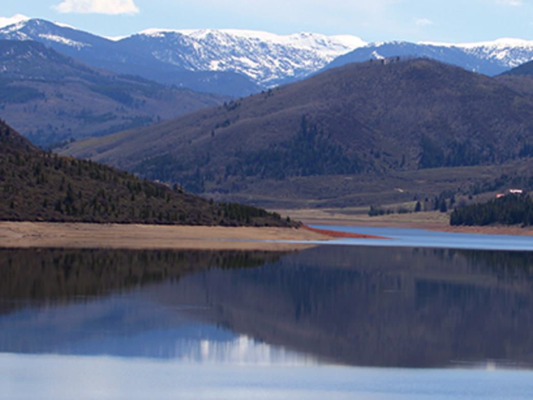 Ruedi Reservoir has nearly 1,000 acres of water to explore.