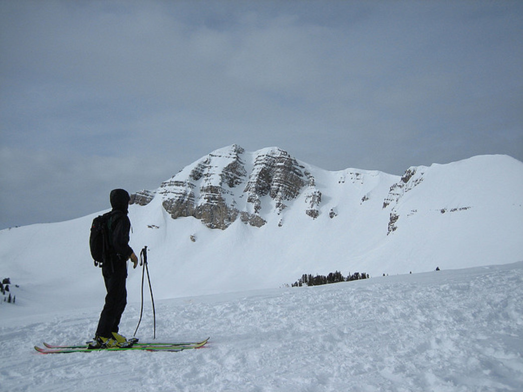 Cody Peak is just one of the areas that can be accessed for spring skiing from JHMR's Aerial Tram.