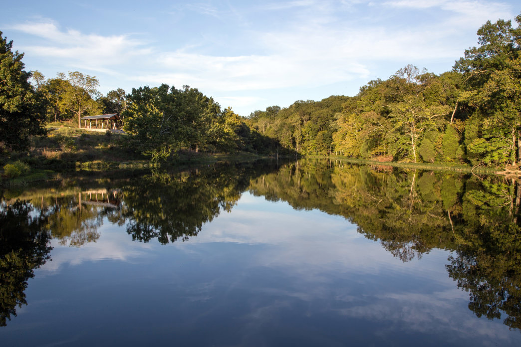 Explore Floyds Fork from Beckley Creek.