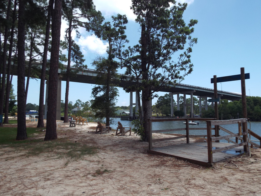 Southport Campgrounds offers the unique appeal of the Intracoastal Waterway scenery, fishing and kayaking.