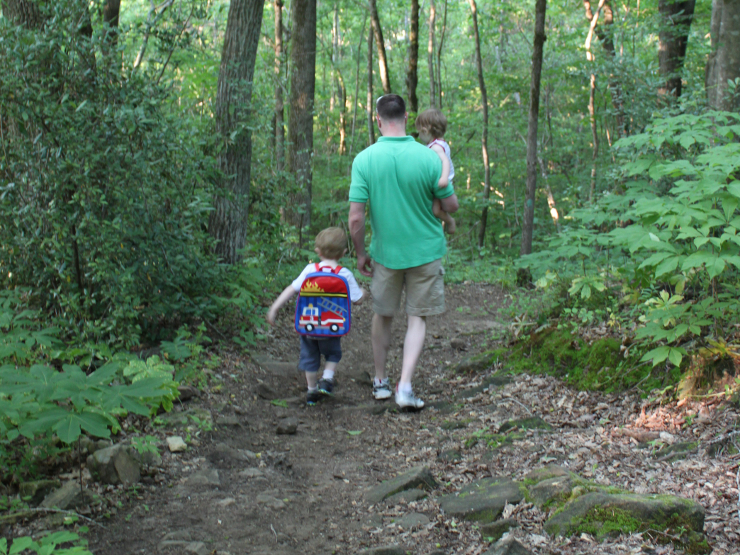 Families of all ages can enjoy the trails of the Trussville Sports Complex.