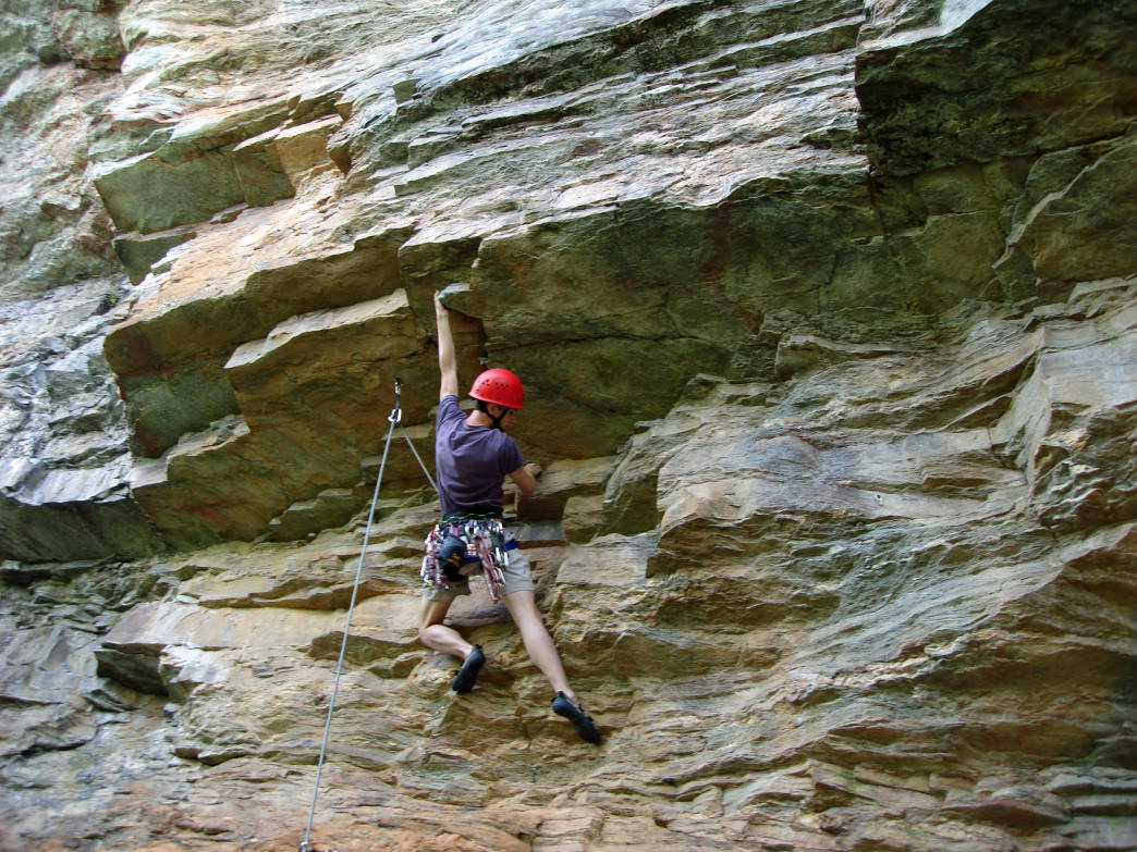 Sauratown offers cragging on high-quality rock