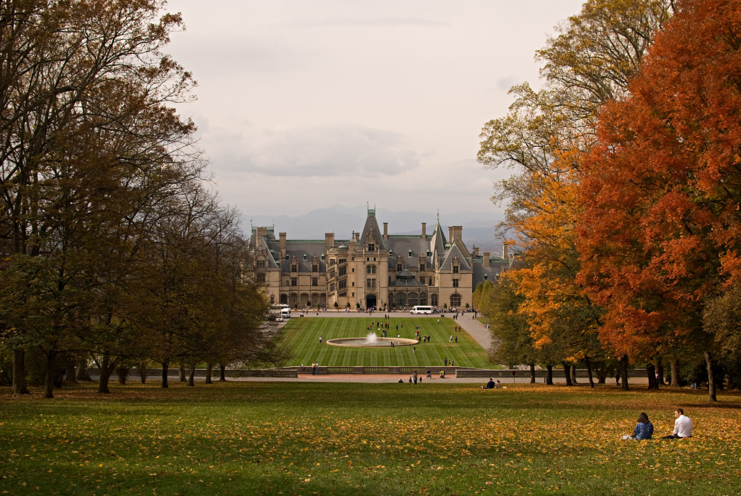 The Biltmore in autumn.