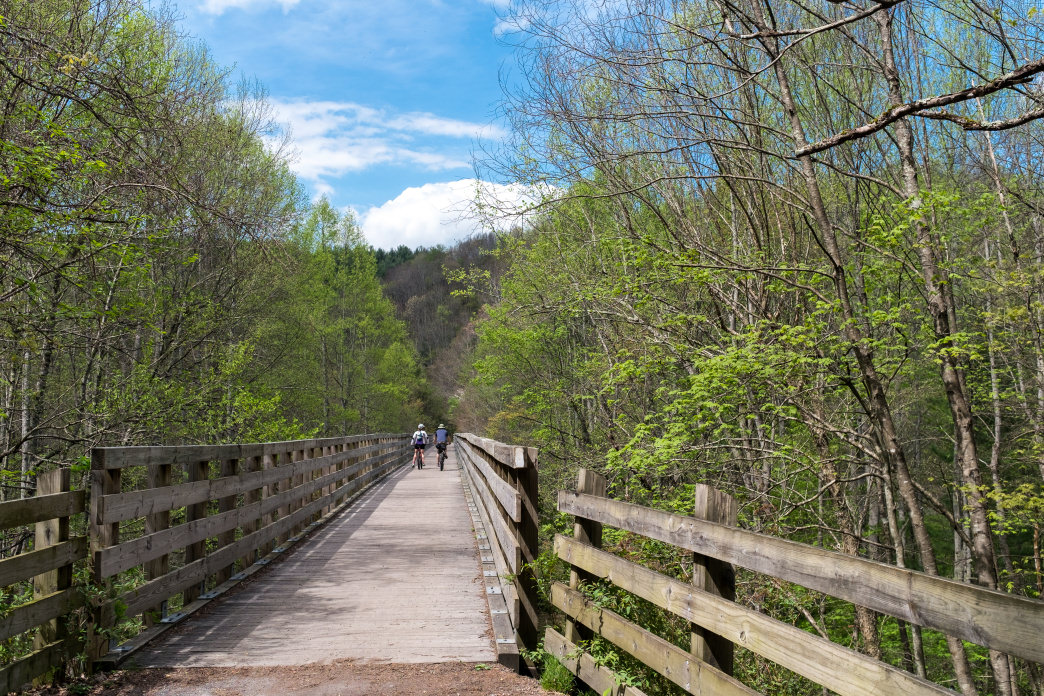 Take advantage of miles of off-road trails in Southwest Virginia.