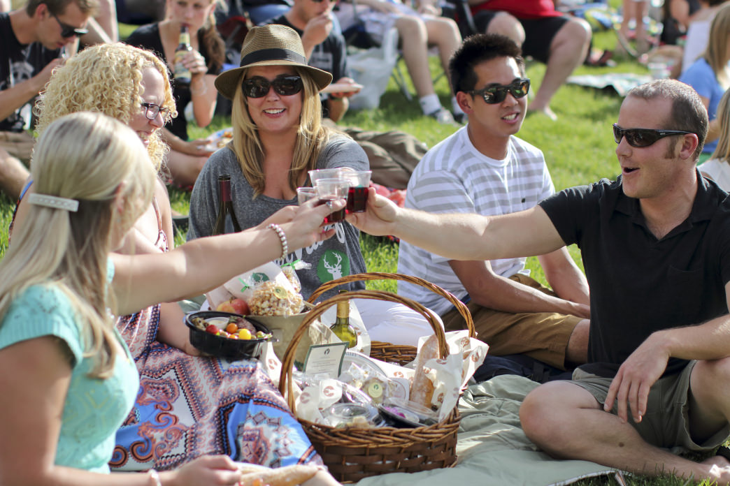 Concertgoers can enjoy pre-made picnic baskets at Deer Valley®.