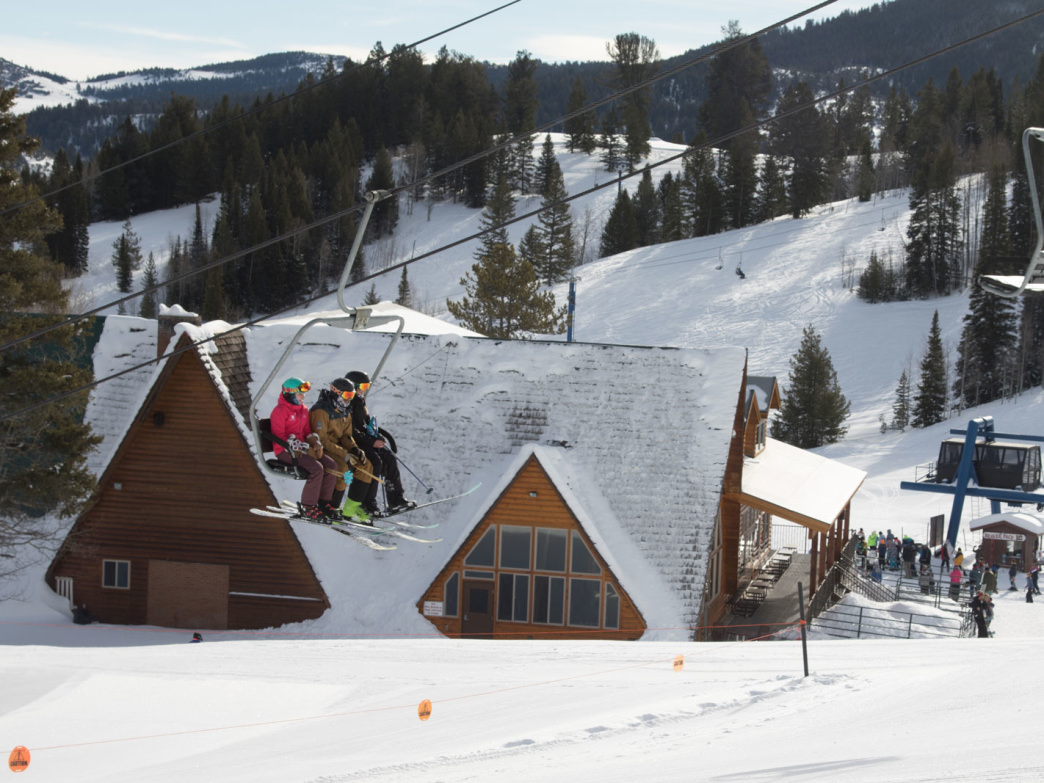 Beaver Mountain (above) has 75 percent of its runs dedicated to beginner and intermediate skiers and snowboarders.
