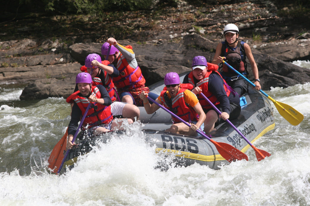 Rafting on the Gauley River is always a good time.