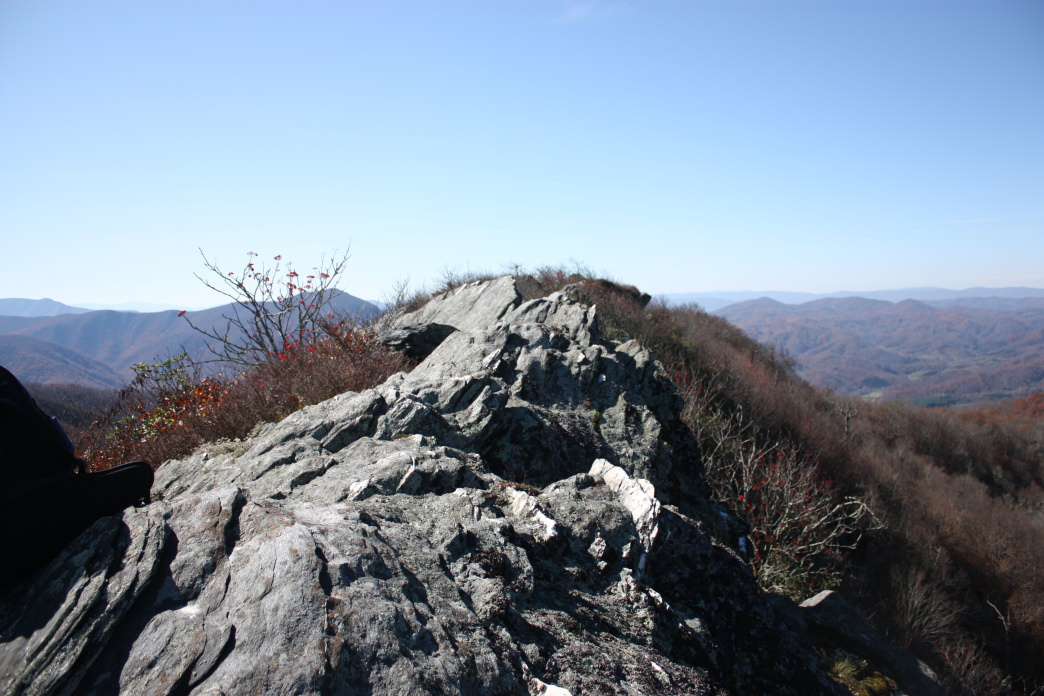A hike at Three Top Mountain can take you to elevations 4,800 feet above sea level.