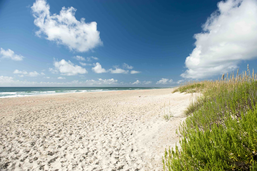 The Crystal Coast features incredible beaches.