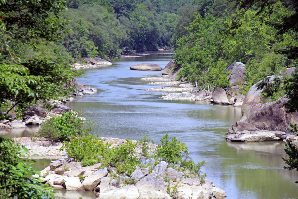 Just about anyone can enjoy a paddle along the Big South Fork.
