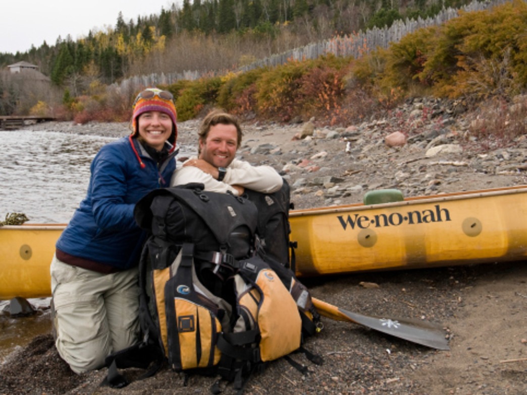 Amy and Dave Freeman plan to spend a year living in the Boundary Waters Canoe Area Wilderness.