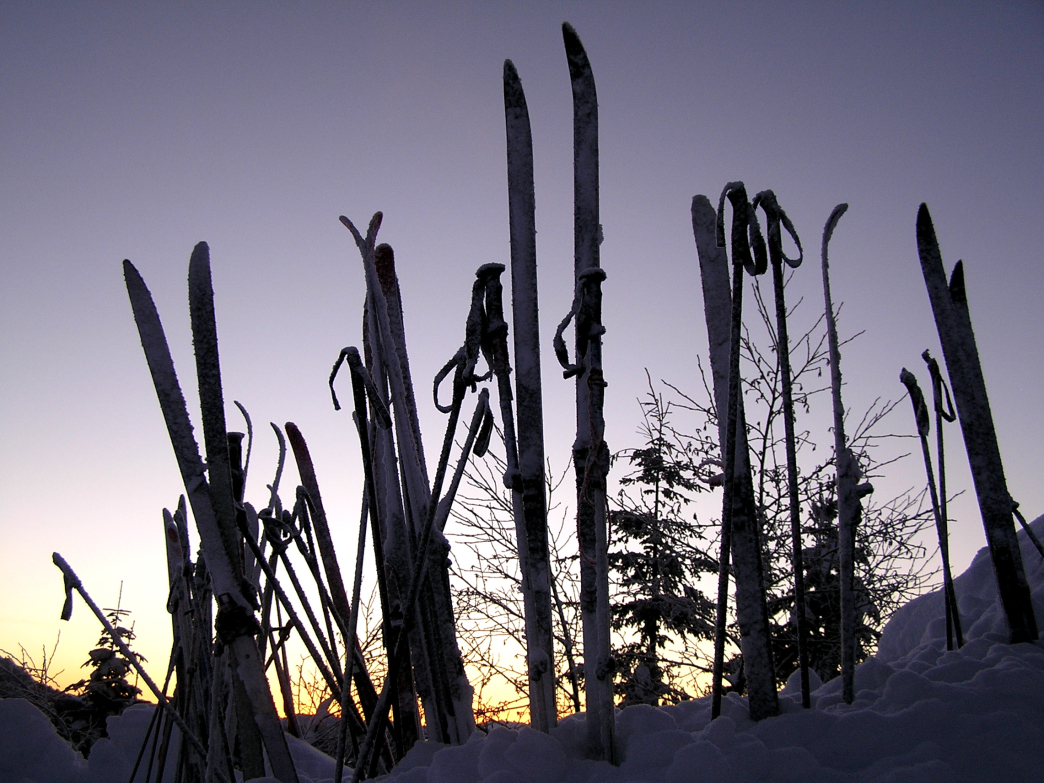A 100-day ski season must involve early mornings and late evenings on the slopes.