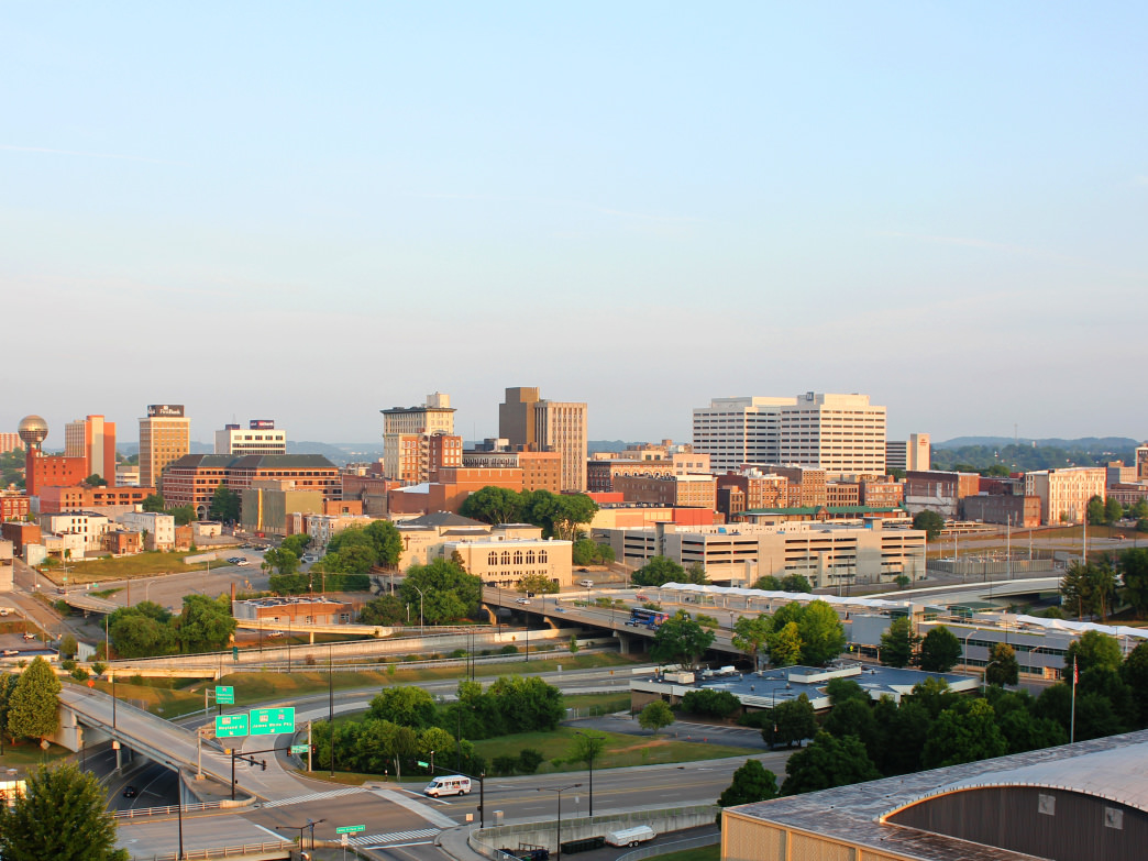 Good morning, Knoxville, Tennessee!