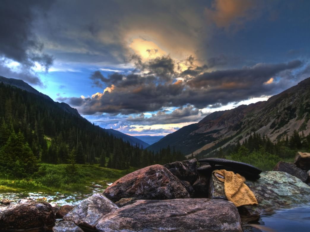 Conundrum Hot Springs is one of Colorado's most popular overnight backpacking trips.