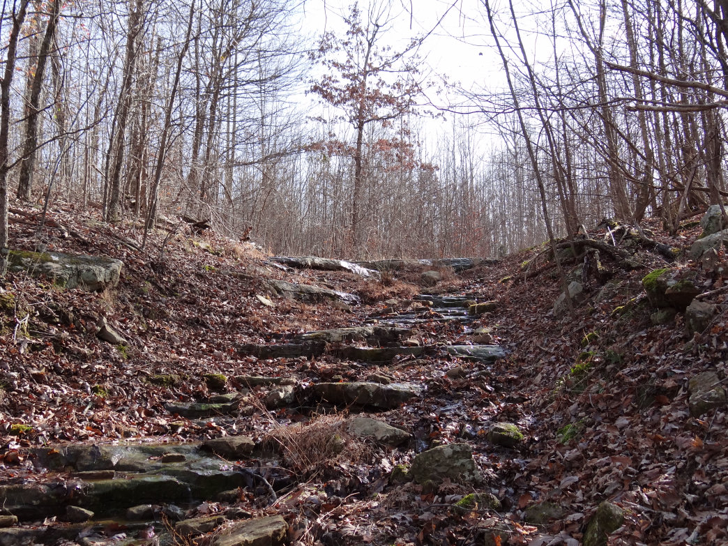 Bring sturdy hiking shoes for a trek on the Walls of Jericho trail.
