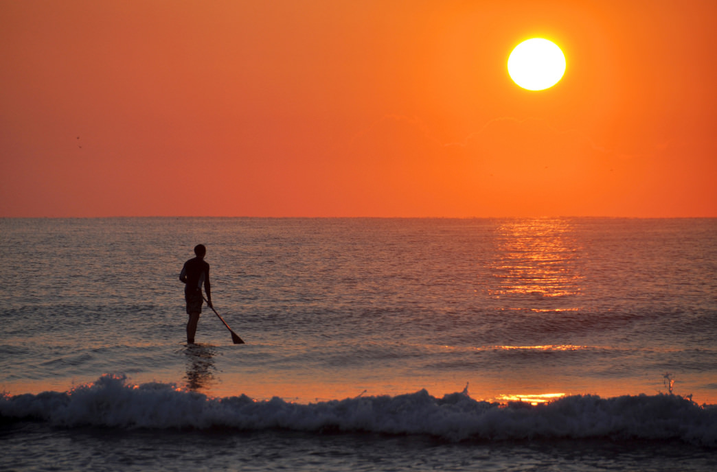 Wrightsville Beach is known for surfing and stand up paddleboarding.