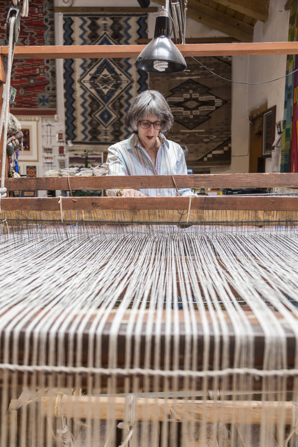 The Colorful History Of Fiber Arts In New Mexico