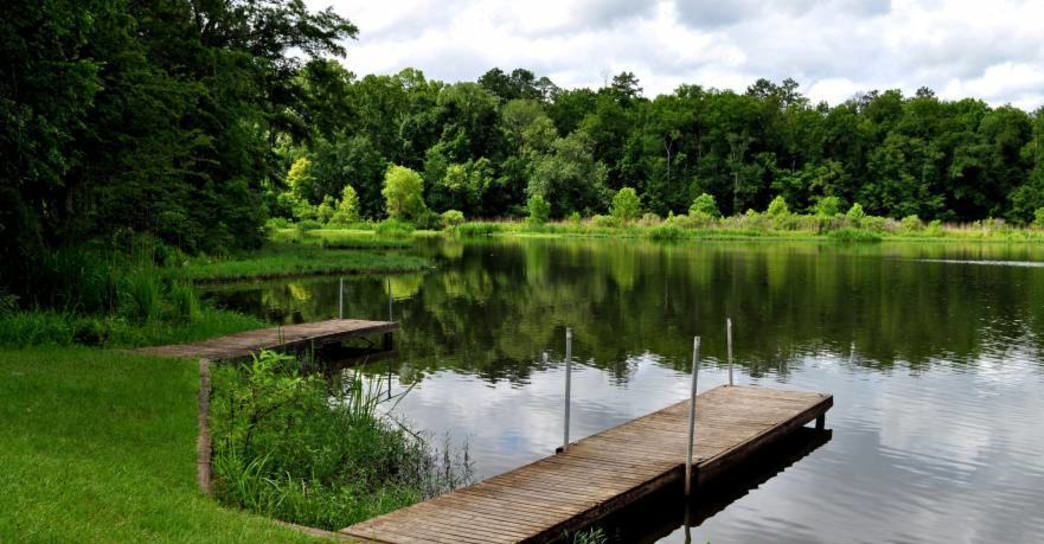 Roland Cooper State Park in Camden, Ala., was closed in the budget battle.