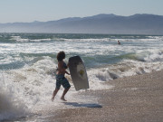 Image for Boogie Boarding at Santa Monica Beach