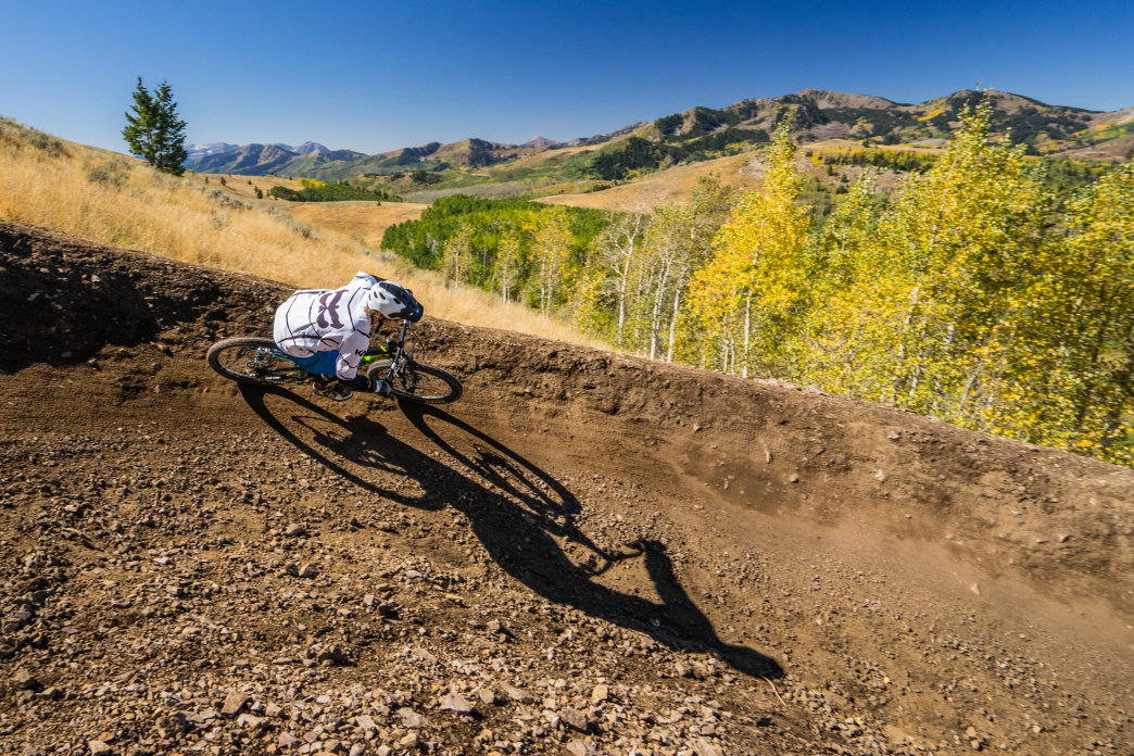 Deer Valley Resort features some of the best mountain biking trails in North America.