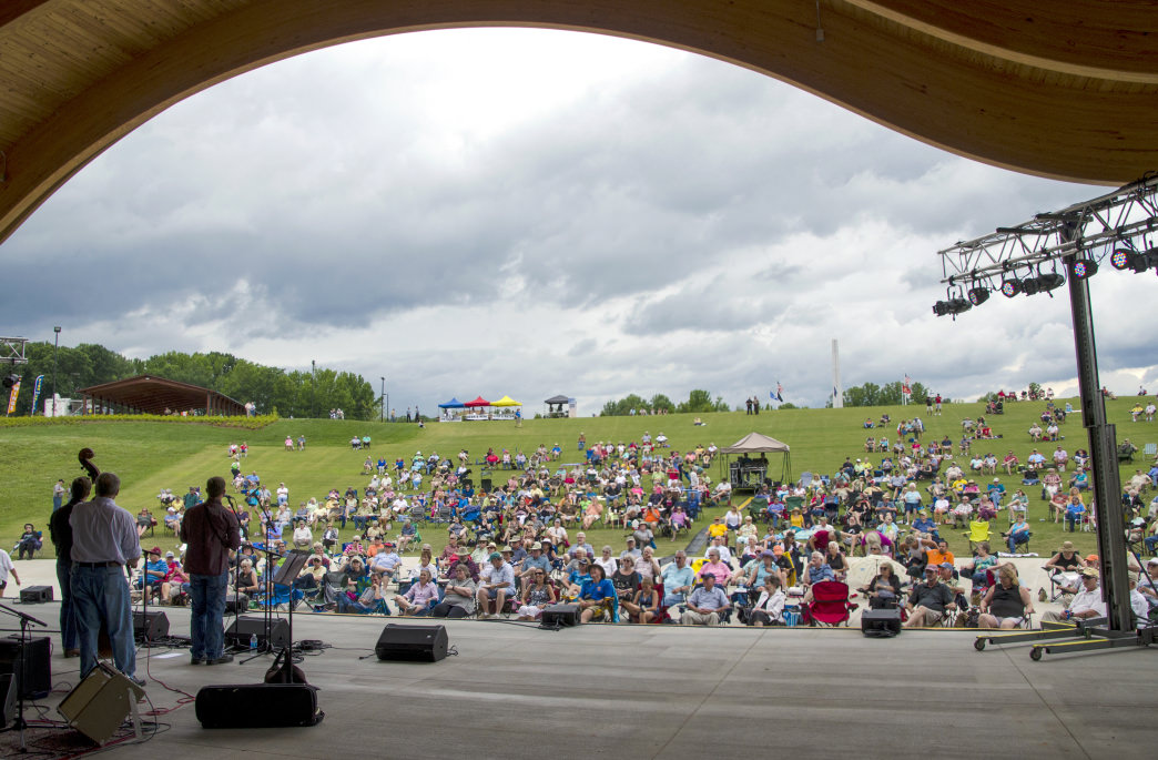 The Blue Ridge Music Center is a hub for Heritage Music.