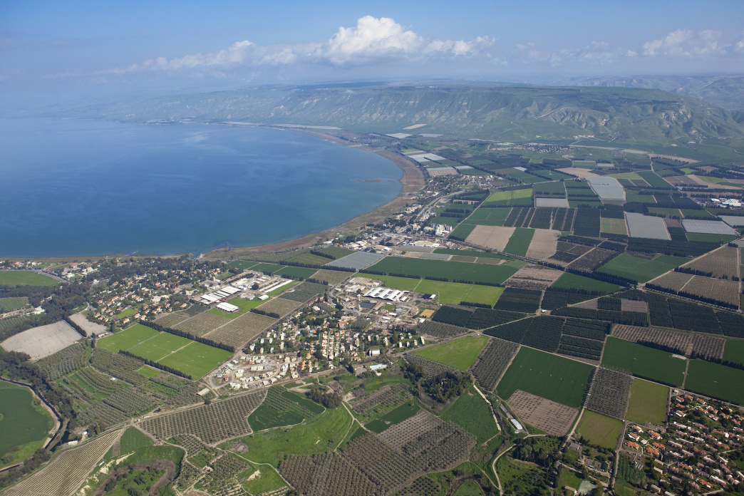 The Sea of Galilee is easy on the eyes and also rich with history.