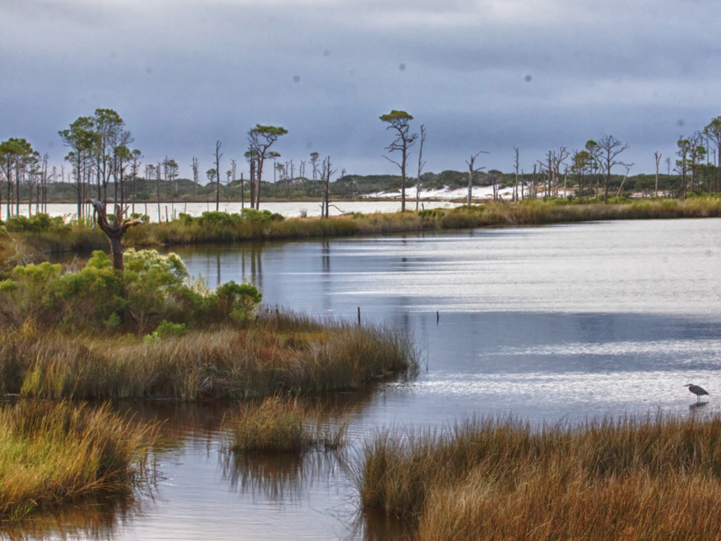 The gentle breeze and the waves of Little Lagoon in Gulf Shores make it a great spot for a retreat.