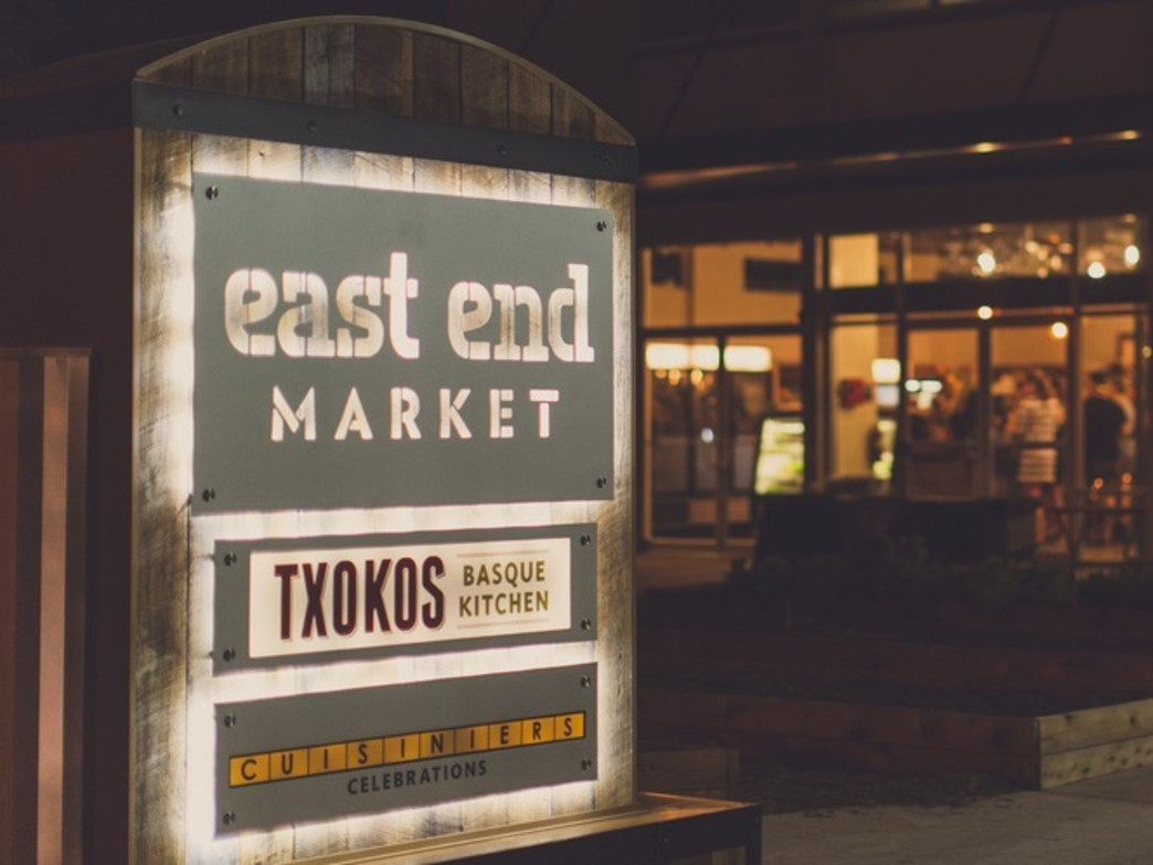 The East End Market features nightly classes as well as plenty of options for a picnic.
