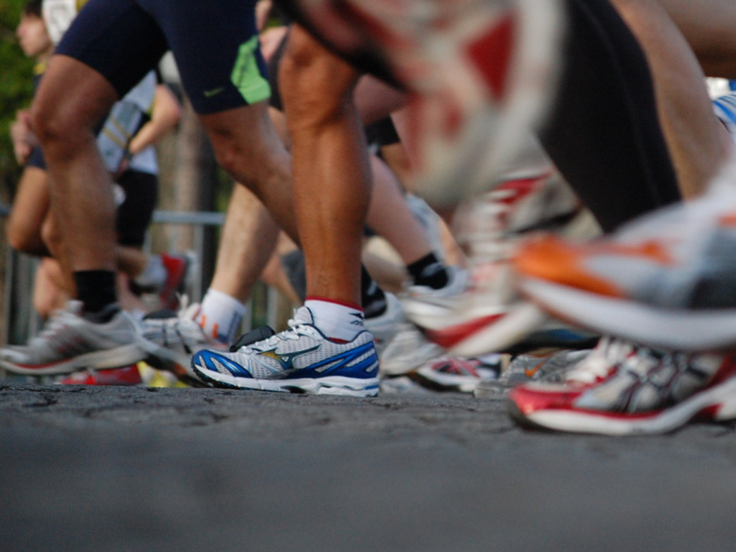 Running in a group can provide extra inspiration and motivation.
