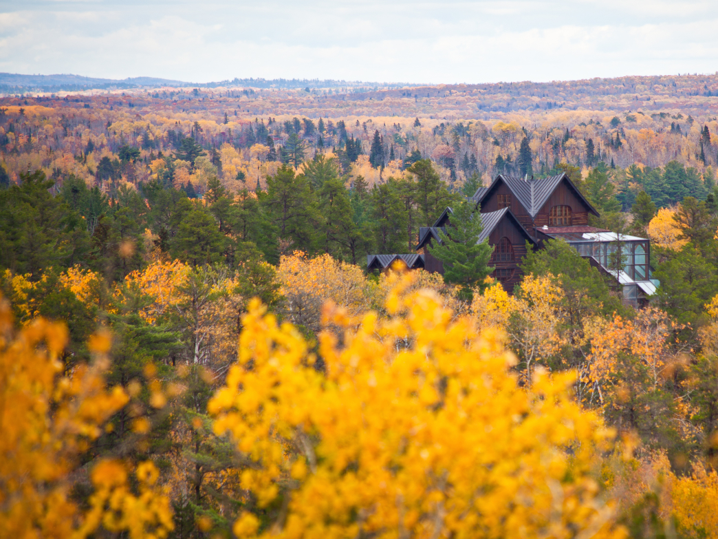 The Will Steger Wilderness Center is an Ely landmark that promotes and studies environmental issues.