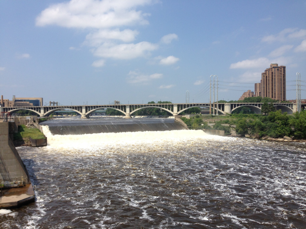 A 72-mile stretch of the river, including the section running through the Twin Cities, is preserved as the Mississippi National River and Recreation Area.