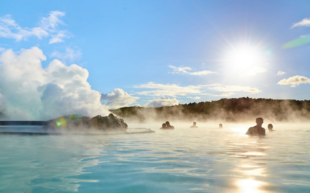 Enjoy Iceland's famous hot springs during the shoulder season.