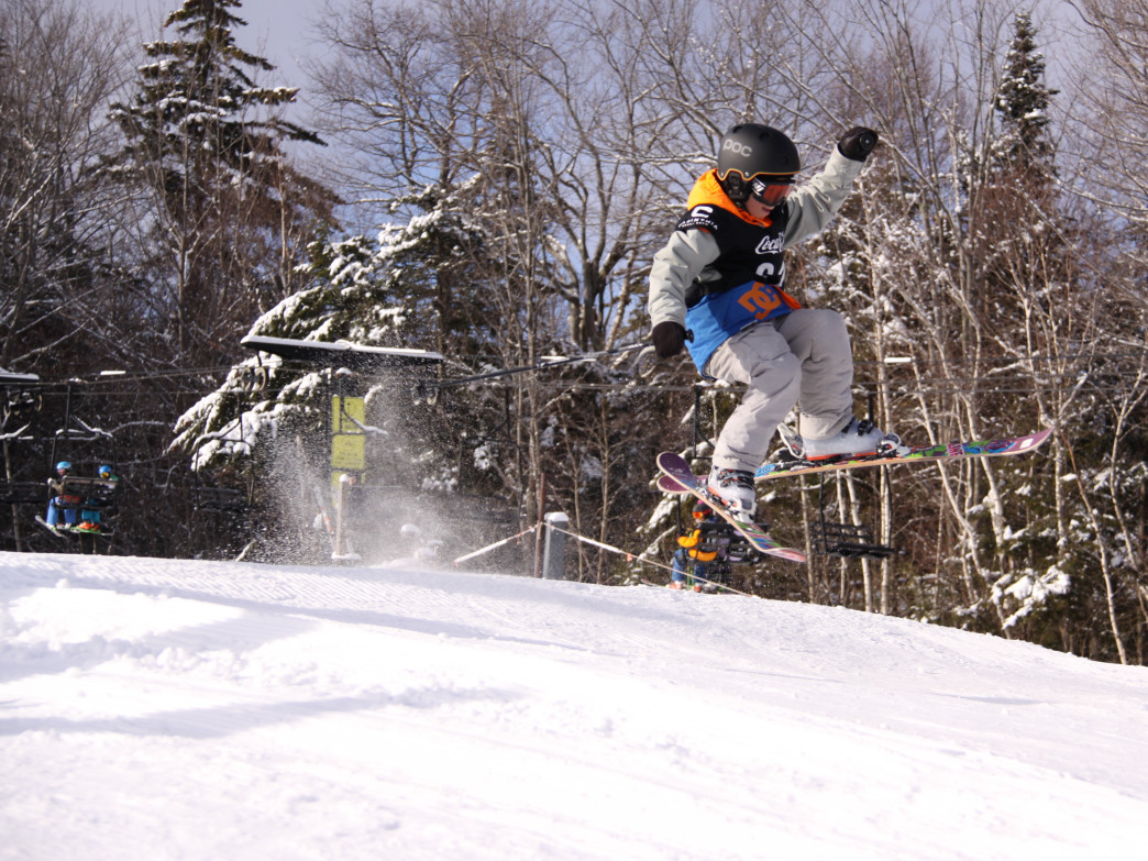 "Even ""grommets"" have their own terrain park at Mount Snow."