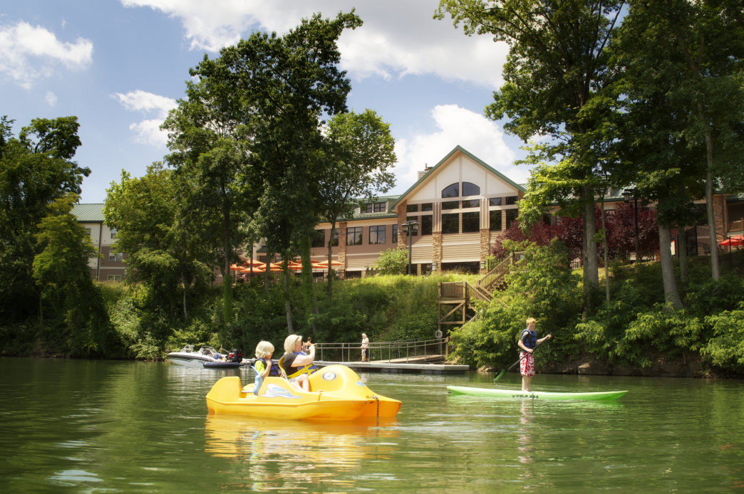 Spend a relaxing day on the water at Stonewall Resort.     Chris Audia