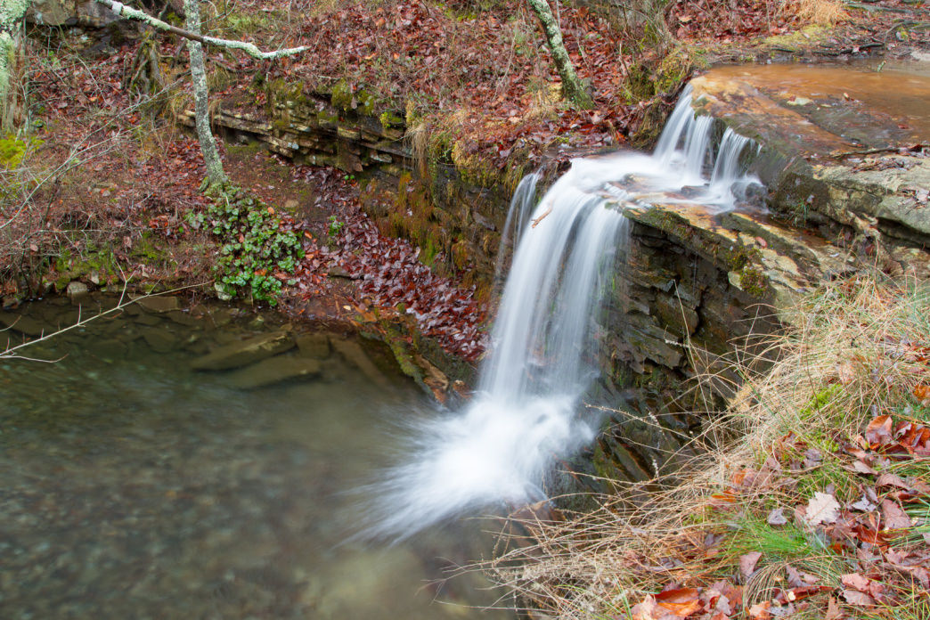 DeSoto State Park offers plenty of waterfalls to explore.