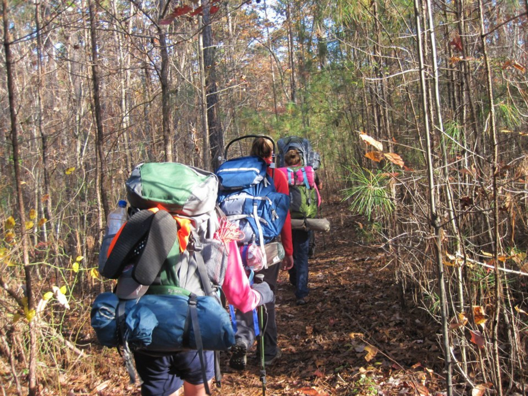 The Pinhoti Trail is a great way for novice hikers to work up to a longer adventure.
