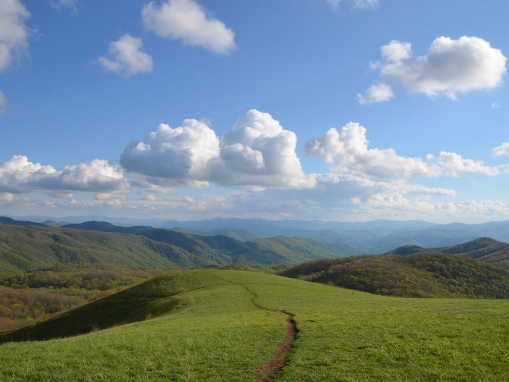 Max Patch, North Carolina.