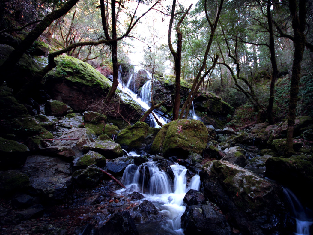 Cataract Falls is even more scenic after a rainfall.