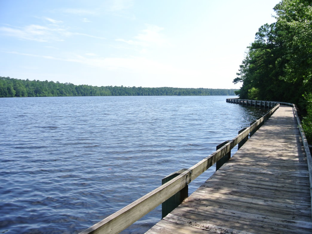 Lake Juniper is the heart of recreation at Cheraw State Park.