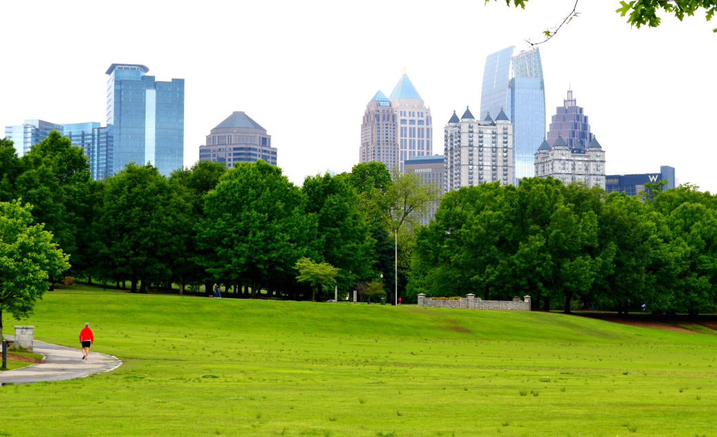 Piedmont has an awe-inspiring backdrop of Midtown to keep motivation high.