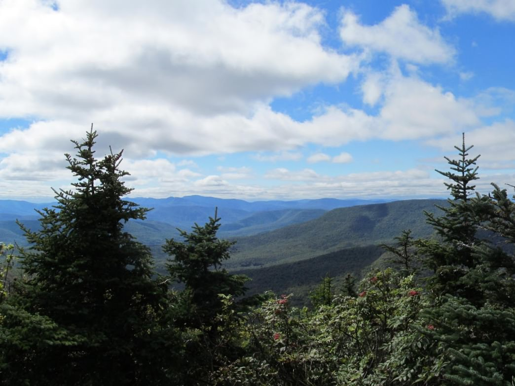 Views from Devil's Path of the Catskills.
