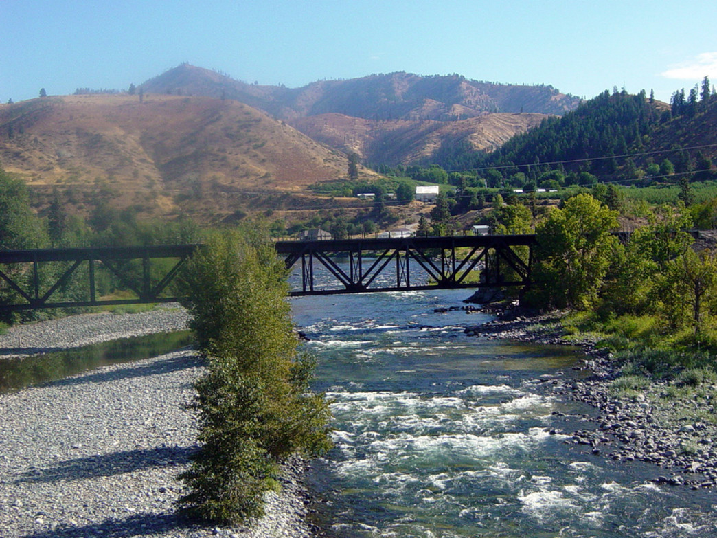 Come spring and early summer, the Wenatchee's whitewater makes for a fun outing.