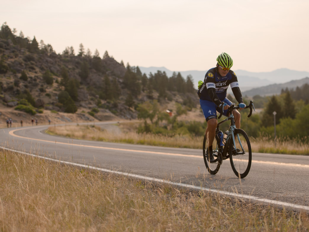 Enjoy the views along Pine Creek Pass and along Snake River as you continue the ride on Day 4 from Driggs to Archer.